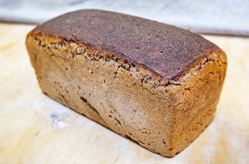 Sourdough rye with caraway seeds